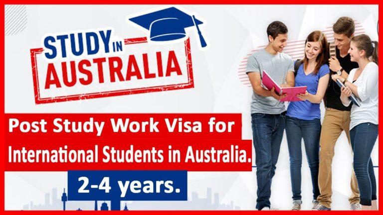 Australia Post-Study Work Visa Application